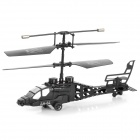 Mini R / C 3,5-CH Helicopter - White + Black