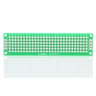 PCB Prototype Blank PCB 2 Layers Double Side 2 x 8cm Protoboard - Green