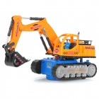 360-Degree Rotational Shovel Loader Excavator Toy w/ Colorful Light and Music Effects (3 x AA)