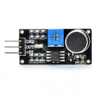 Sound Detection Sound Sensor Module for Smart Car - Black