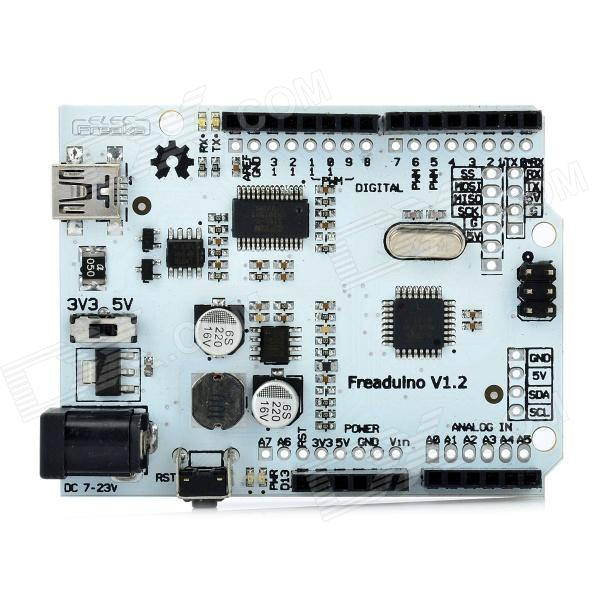 FreArduino ATMega328 V1.2 Duemilanove Motherboard Module for Arduino new original programmable logic controller afp0rc16t plc 24 v dc 8 input points 8 input points fp0r control unit