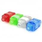 Magic Colorful LED Finger Ring Laser Light (3 x AG3 / 4-Pack)
