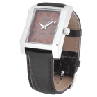 Sinobi 9313 PU Band Quart Wrist Watch - Brown (1 x S9313G)