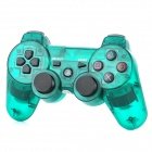 Bluetooth Wireless Dualshock Controller für PS3 / PS3 Slim - Transparent Grün