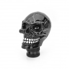 Cool Skull Style Resin Car Gear Shift Knob - Black