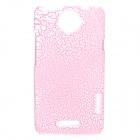 Stylish Protective Plastic Case for HTC ONE X - Pink