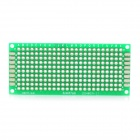PCB Prototype Blank PCB 2 Layers Double Side 3 x 7cm Protoboard - Green
