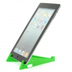 Compact Stainless Steel + Plastic Stand Mount Holder for Tablets - Green