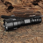 UltraFire U4-MCU Cree XM-L T6 800LM 3-Mode Memory White Flashlight - Black (1 x 18650)