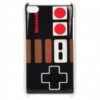 Vintage Game Controller Style Protective PC Back Case for iPod Touch 4 - Black + Red