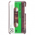 Vintage Cassette Tape Style Protective PC Back Case for Ipod Touch 4 - Green