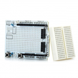 Prototyping Shield ProtoShield Mini Breadboard  for Arduino (Works with Official Arduino Boards)