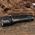 Sports Diving Cree XM-L T6 600LM White Light Dimming Flashlight - Black (1 x 18650)