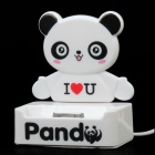 Cartoon Panda Style Charging Docking Station for iPhone / iPod - White