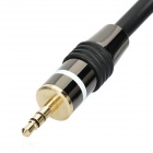 Gold plated Copper 3.5mm Jack to 2 RCA M/M Audio Connection Cable (150cm)