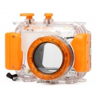 40M Professional Waterproof Protective Plastic Housing Case for Camera - Orange