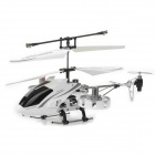 Rechargeable 4-Channel R/C Helicopter w/ IR Throttle Stick Controller and Gyroscope - Black + White