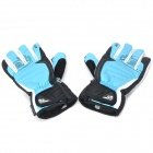 Outdoor Sports Skiing Warm Anti-Slip Full Finger Gloves - Blue (Pair)