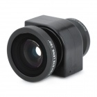 3-in-1 Fish Eye + Macro + Wide Angle Camera Lens for iPhone 4 / 4S - Black
