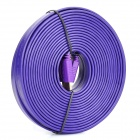 3D 1080P HDMI V1.4 Male to Male Flat Connection Cable - Purple (1000cm)