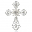 CrystalCross DIY Ornament Decoration for Iphone / Cell Phone Back Case - Silver