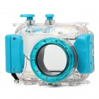 40M Professional Waterproof Protective Plastic Housing Case for Camera - Blue