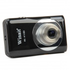 DC-V100 5.0MP CMOS Digital Video Camera w/ 5X Optical Zoom / SD - Black (2.7