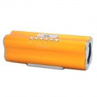 X168 Rechargeable MP3 Player Speaker w/ FM / USB / TF - Orange