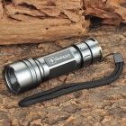 GOREAD C40 Cree XR-E Q5 250LM 3-Mode White Zooming Flashlight - Grey (1 x 14500)