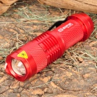 SIPIK Cree XR-E Q5 120LM LED White Light Zoom Flashlight w/ Clip - Red (1 x AA)