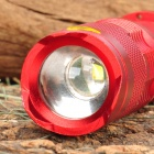 SIPIK 120LM LED White Light Zoom Flashlight w/ Clip - Red (1 x AA)