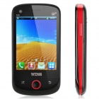 "WING A36 GSM Smartphone w/ 3.2"" Resistive, Dual-Band, Dual-SIM and FM - Black + Red"