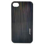 NILLKIN Protective Plastic Back Case w/ Screen Protector for Iphone 4 / 4S - Black