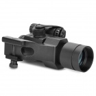 1X 35mm Tactical Red/Green Dot Laser Sight Scope - Black