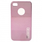 Protective Water Drop Style Plastic Back Case for Iphone 4 / 4S - Pink