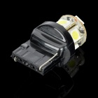 T20 2.4W 145LM 6000~7000K 8-SMD LED White Light Car Brake / Backup Lamp (10~15V)