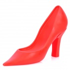 High-Heeled Shoe Style PP Door Stop - Red