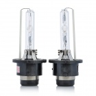 D4C 35W 6000K 3000-Lumen White Light Xenon HID Headlamps (Pair / 12V)