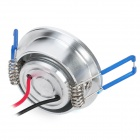 1W-THD-A-C 100-110lm 6000-6300K White Ceiling Light Lamp - Silver (85-265V)