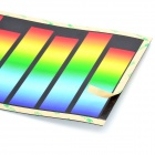 EL Sound Activated Red Blue Green Purple Car Sticker / Light Up Equalizer for Car Decoration