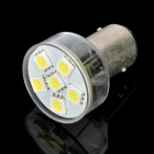 1157 1.8W 120LM 6000~7000K 6-SMD LED White Light Car Brake / Backup Lamp (10~15V)