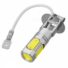 H3 7.5W 400LM 6000~6500K 5-LED White Light Car Foglight (DC 12V)