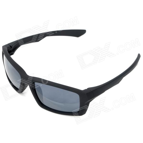 Stylish UV Protection Sports Sunglasses - Black