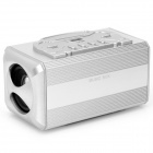 X169 MP3 Player Speaker w/ FM / USB / TF - Silver
