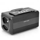 X169 Media Player Speakers w/ FM / USB / TF / AUX / ANT - Black