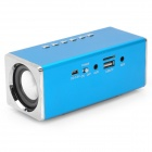 X189 MP3 Player Speaker w/ FM / TF / USB - Blue