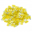 12V 20A Car Power Fuses - Yellow (100-Piece Pack)