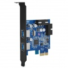 ORICO PVU3-2O2I PCI-Express 2.0 to 2 x USB 3.0 External Port + 1 x 20-Pin Internal Expansion Card