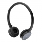 GUCEE G268 2.4GHz Wireless HiFi Headphones Headset w/ Microphone - Black