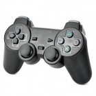 2.4GHz Wireless Dual-Shock Gaming Controller for PS2 / PS 3 / PC - Black